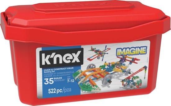 K'nex Bouwset 522 onderdelen voor €12,99 @ Bol.com