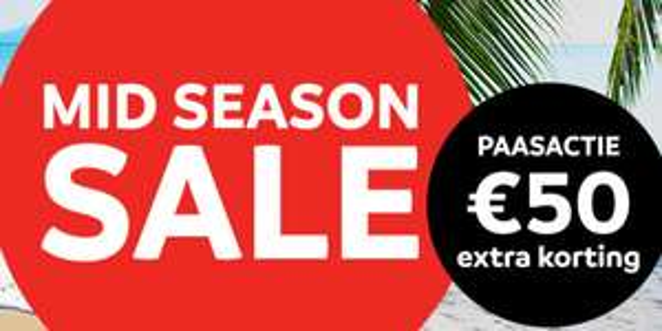 €50 korting bij Sunweb-vakanties vertrek mei/juni