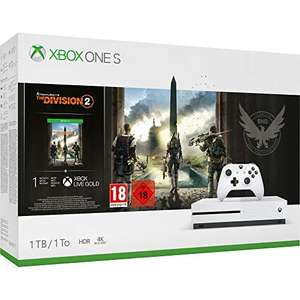 Xbox One S 1tb + The Division 2 + Elite controller + GoW 4 @Amazon.fr