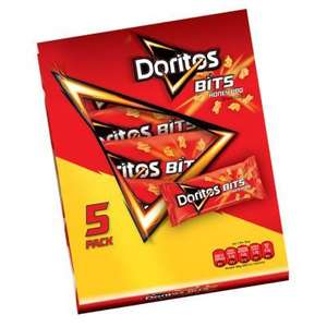 2x Doritos Bits honey bbq 5 pack voor €2,- (20 cent per zakje) @Big Bazar