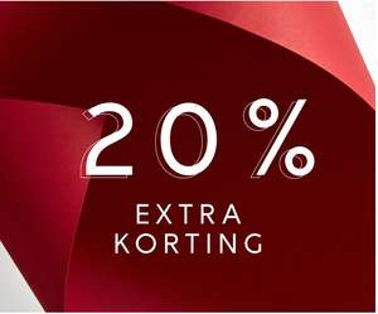 SALE + 20% extra met code @ Vila