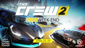 The Crew 2 gratis weekend van 25 t/m 29 april (PC/PS4/Xbox One)