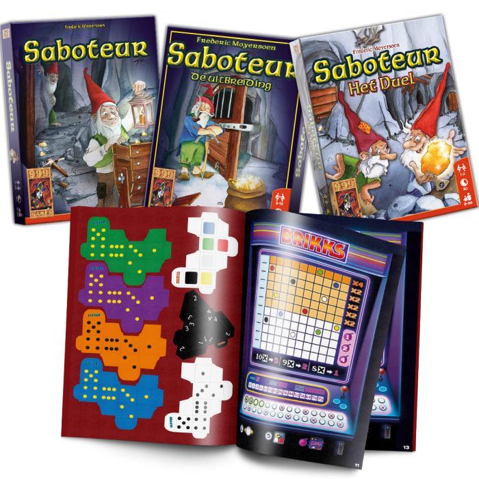 3 Saboteur kaartspellen met flinke korting!