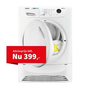 Zanussi Droogkast Warmtepomp ZDH8333P via Art & Craft