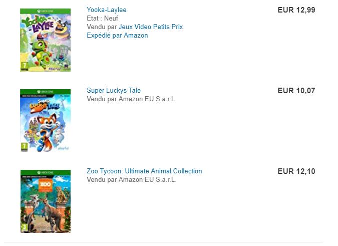 Xbox One games (kindvriendelijk): Zoo Tycoon, Super Luckys Tale, Yooka-Laylee