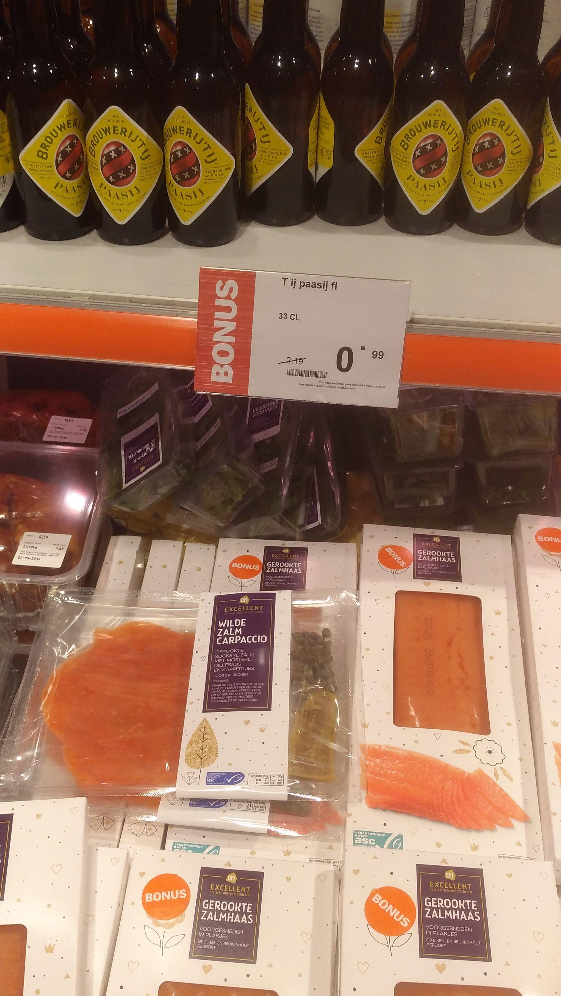 't IJ Paasij voor €0,99 bij Albert Heijn (55% korting)