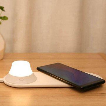 Xiaomi Yeelight nachtlampje met geïntegreerde Wireless Qi 10W (GWTR)