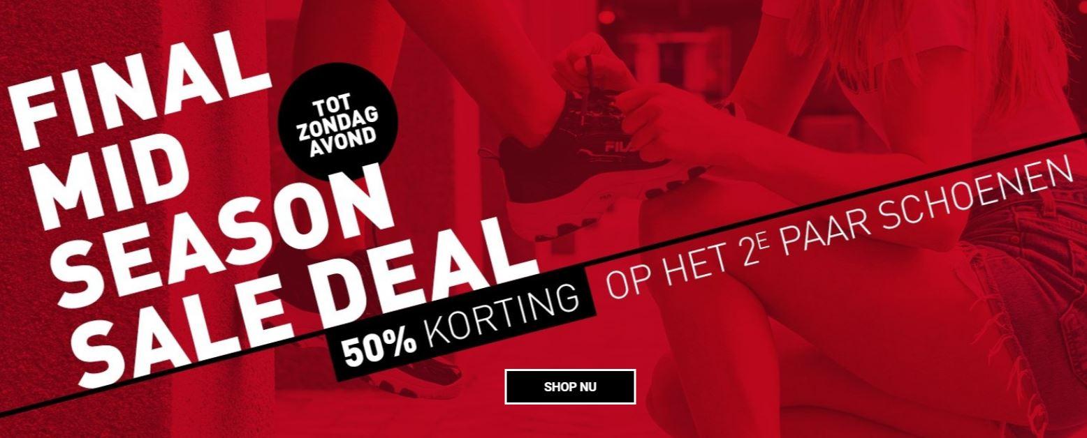 Sale schoenen: 2e 50% extra korting + 10% extra met code @ Perry Sport