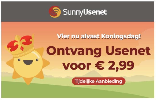 Sunny usenet upgrade