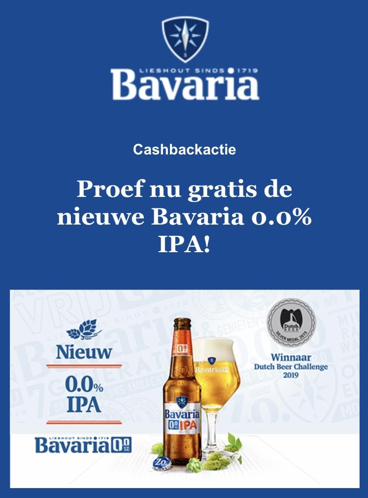 Probeer gratis Bavaria 0.0% IPA
