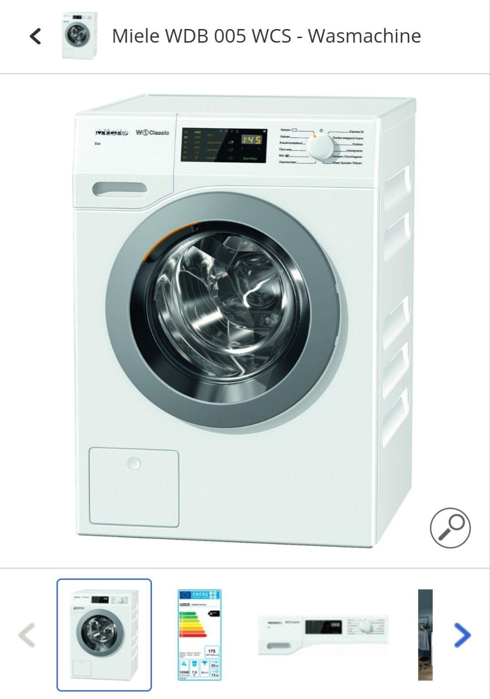 Miele WDB 005 WCS - Wasmachine