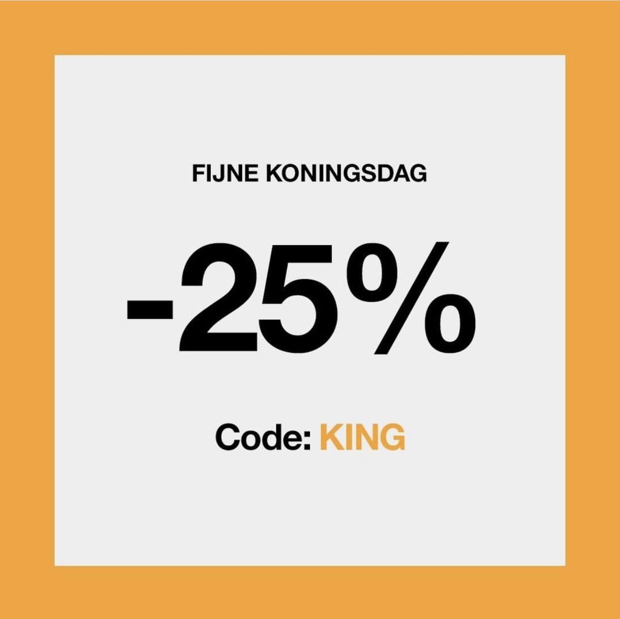 25% korting bij Clinique verzorging artikelen