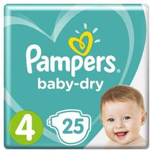 Pampers Baby-Dry diverse maten