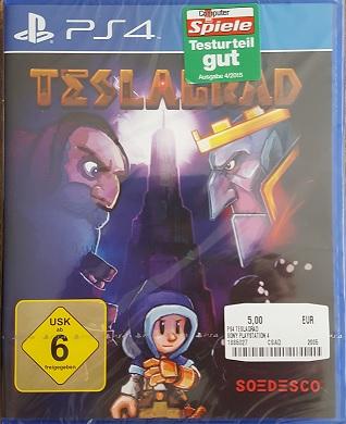 [Grensdeal Duitsland] Ps4 spel: Teslagrad