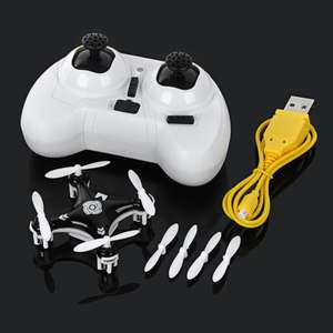 Cheerson CX-10A Mini 2.4GHz 4-CH 6-axis Aircraft w/ Gyro + Headless Flying voor €7,30 @ Allbuy