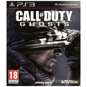 PS3-game Call of Duty: Ghosts voor €19