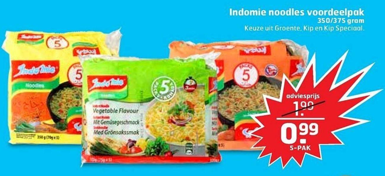 Indomie Noodles €0,20 per stuk @Trekpleister