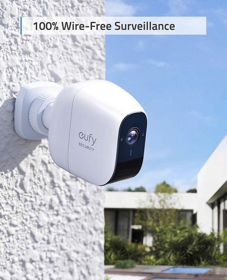 eufy beveiligingscamera 1080p van 399,99 voor 299,99