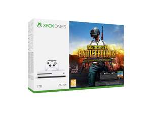 Microsoft XBox One S 1TB inclusief game PUBG voor €175,70 (30% korting!) @Amazon.fr