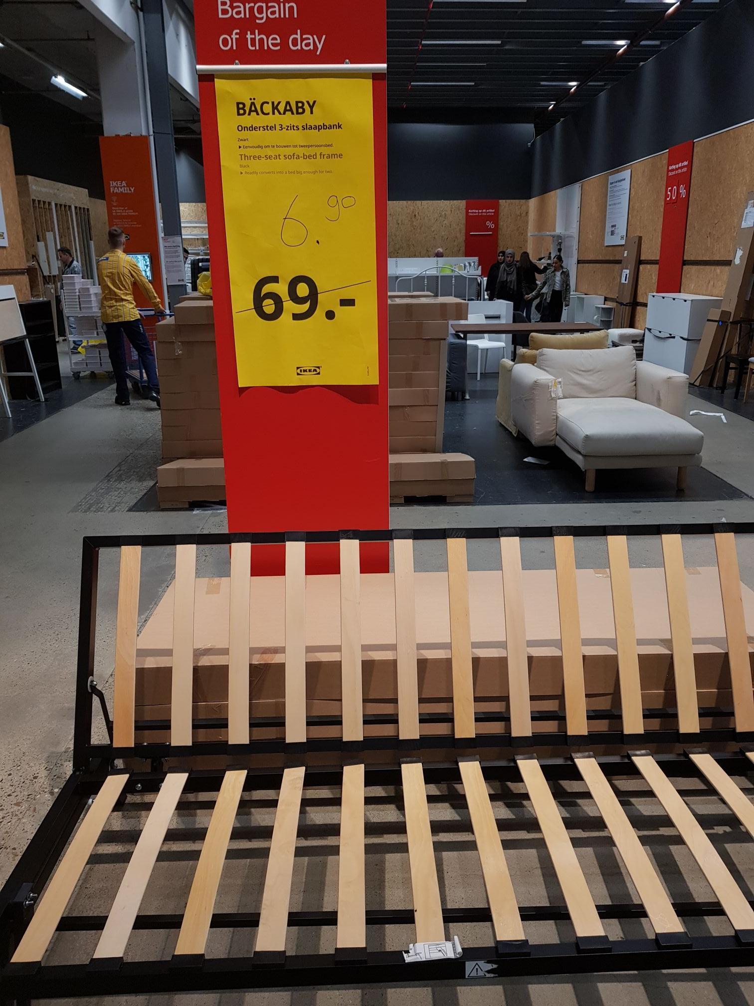 Ikea Delft Båckbaby onderstel 3-zitbank