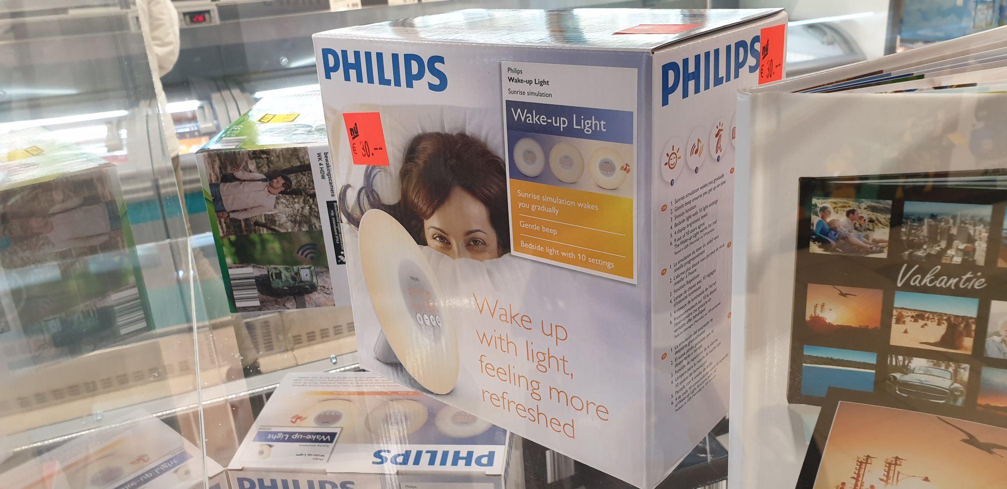 Philips wake up light (lokaal?) Aldi
