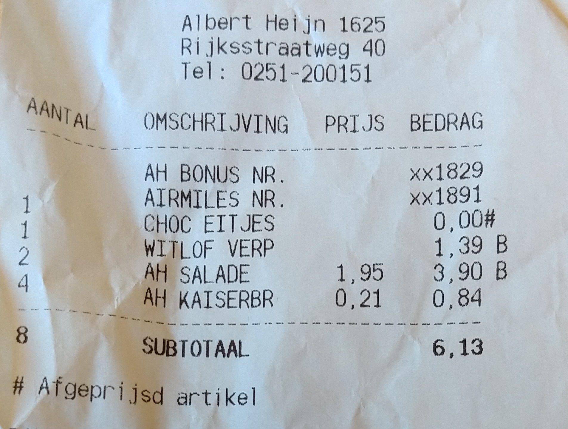 Lokaal: Gratis zakjes paaseitjes bij Albert Heijn Heemskerk