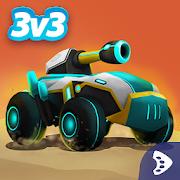 Tank Raid Online, gratis 3v3 MOBA game @ Google Play-store