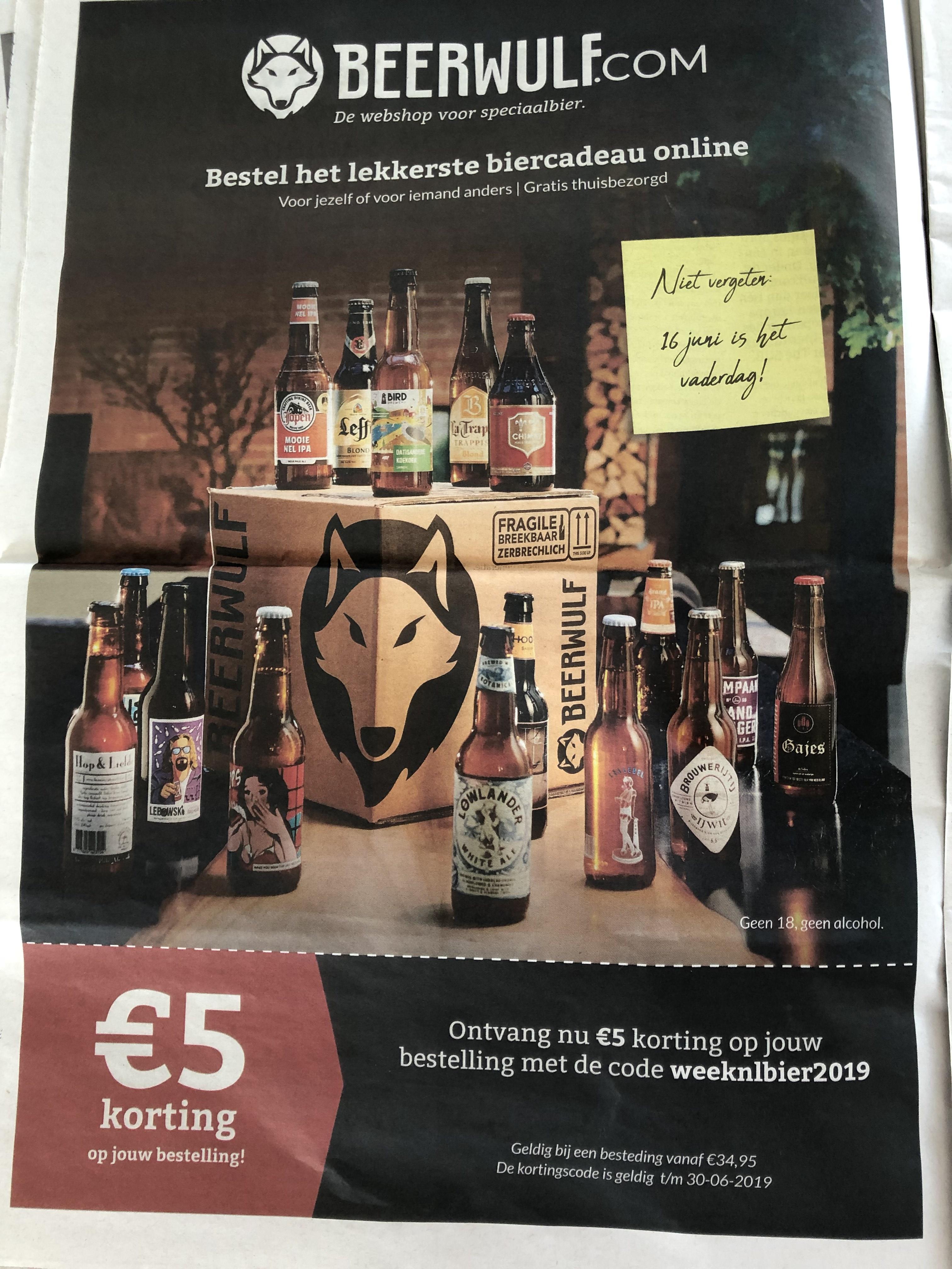 Biertjes/speciaal biertjes met Korting