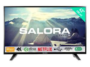 Salora 43UHS3500 43″ Ultra HD Smart LED tv @ Media Markt