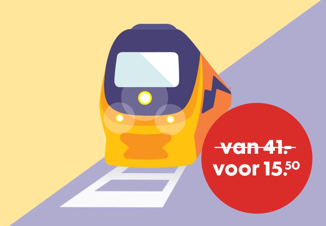 NS Superdalticket voor €15,50 + 25 Hema-punten