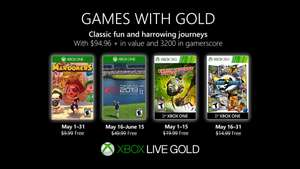 Games with Gold Mei 2019