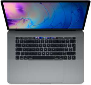 MacBook Pro Touch 15-inch 2.2GHz 256GB 2 kleuren