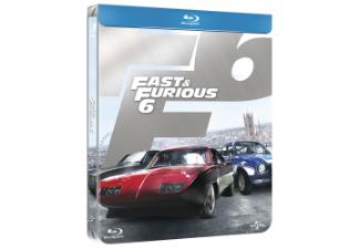 Fast & Furious 6 Steelbook (Blu-ray) voor € 7,99 @ Media Markt