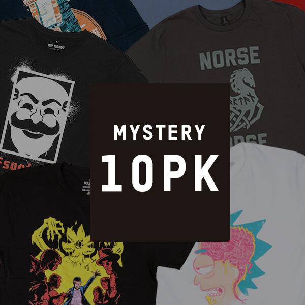 Mystery Geeky T-Shirts - 10-Pack @ Zavvi