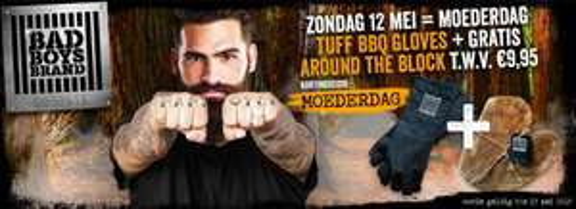 TURF BBQ Gloves + gratis Around the Block snijplank