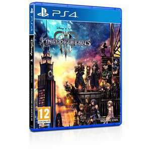 Kingdom hearts 3 (alleen PS4)
