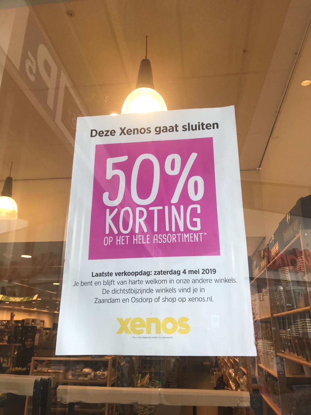 [LOKAAL] 50% Korting op hele Xenos Amsterdam-Noord assortiment
