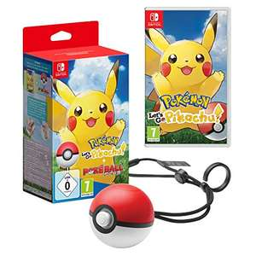 Pokémon: Let's Go, Pikachu! + Pokéball Plus @Amazon.de