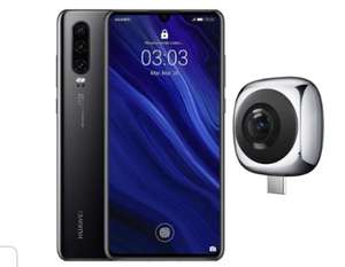Huawei P30 Smartphone + Huawei 360° Camera @ Amazon.es