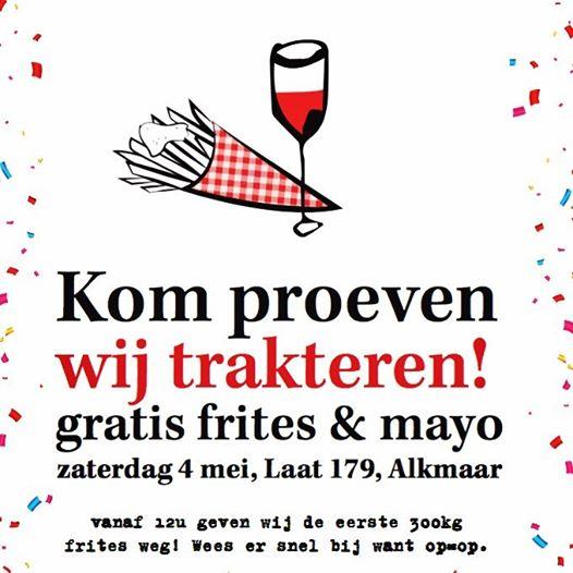 Gratis 'BESTE FRIET VAN AMSTERDAM' bij opening PAR HASARD [Alkmaar]