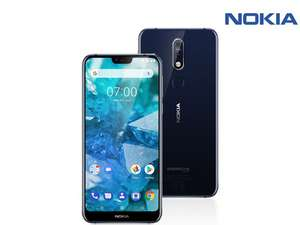Nokia 7.1 blauw single sim 3GB/32GB