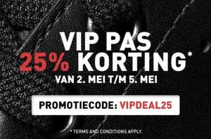 Foot Locker VIP- deal 25% korting