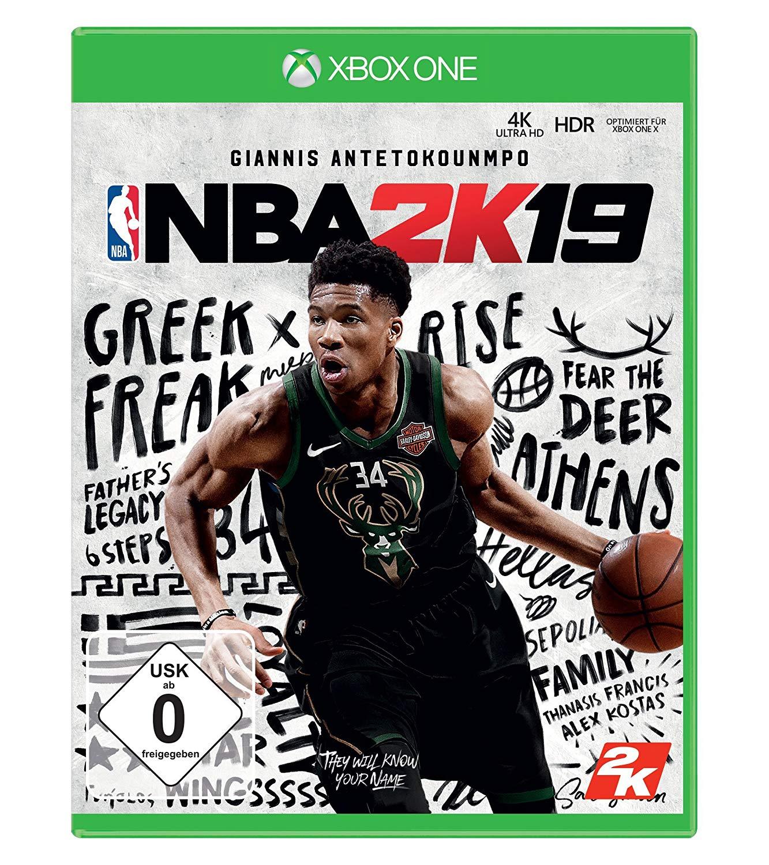 NBA 2K19 Standard Edition (Xbox One) @ Amazon.de