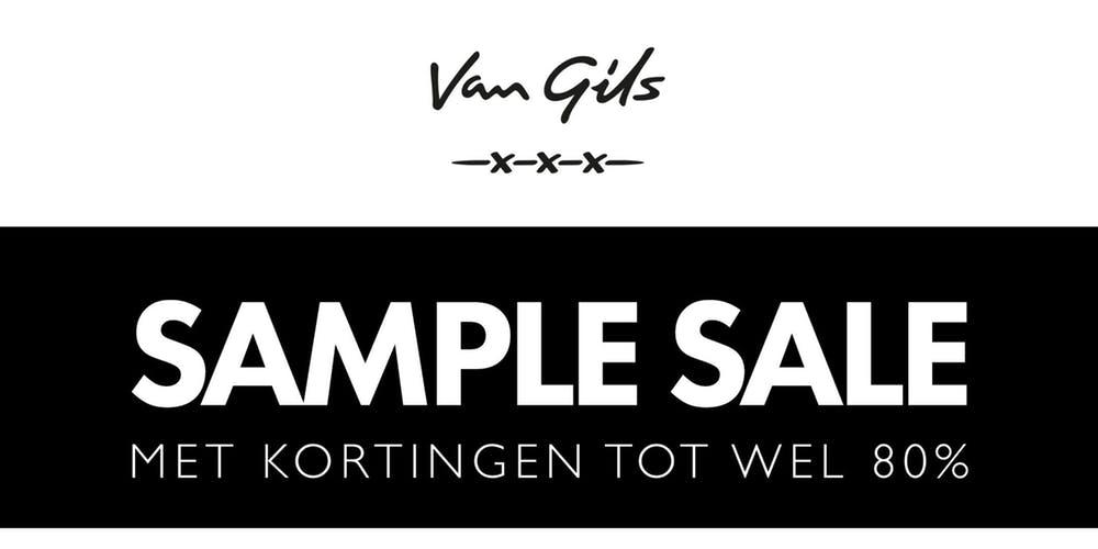 Van Gils Sample Sale met korting tot 80% @ Van Gils