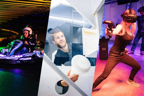 Openingsdeal 30% korting op karten, lasergamen, bowlen, VR games, escaperoom