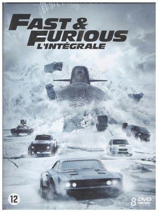Fast & Furious 1-8 DVD boxset @ Bol.com