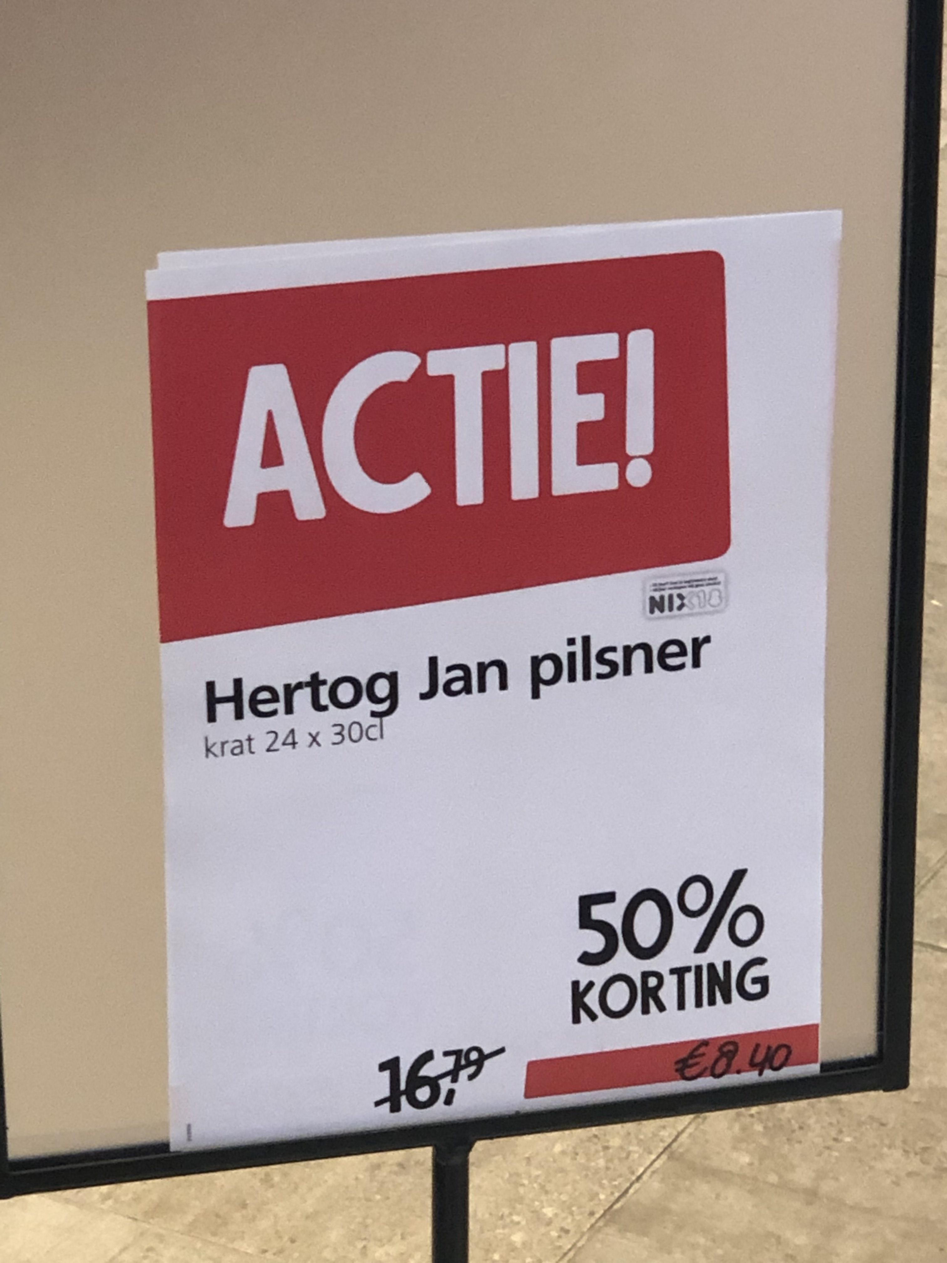 [Venlo] Hertog Jan Pils krat voor €8,40
