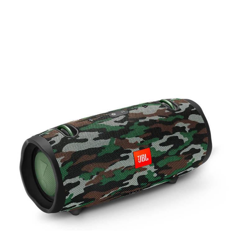 JBL Xtreme 2 Camouflage + T110 black in-ear oordopjes @ AO.nl