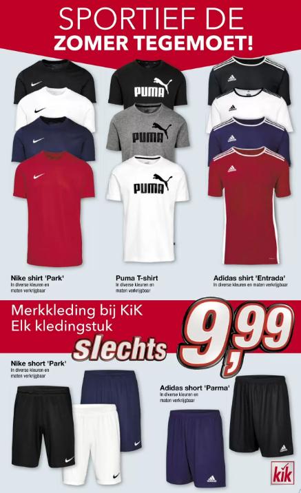 Nike,Adidas of Puma shirt of short @Kik
