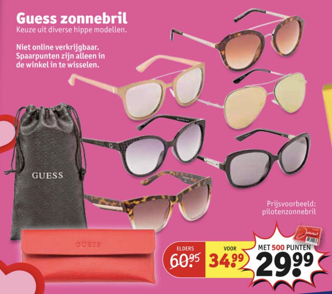 Guess zonnebril bij Kruidvat